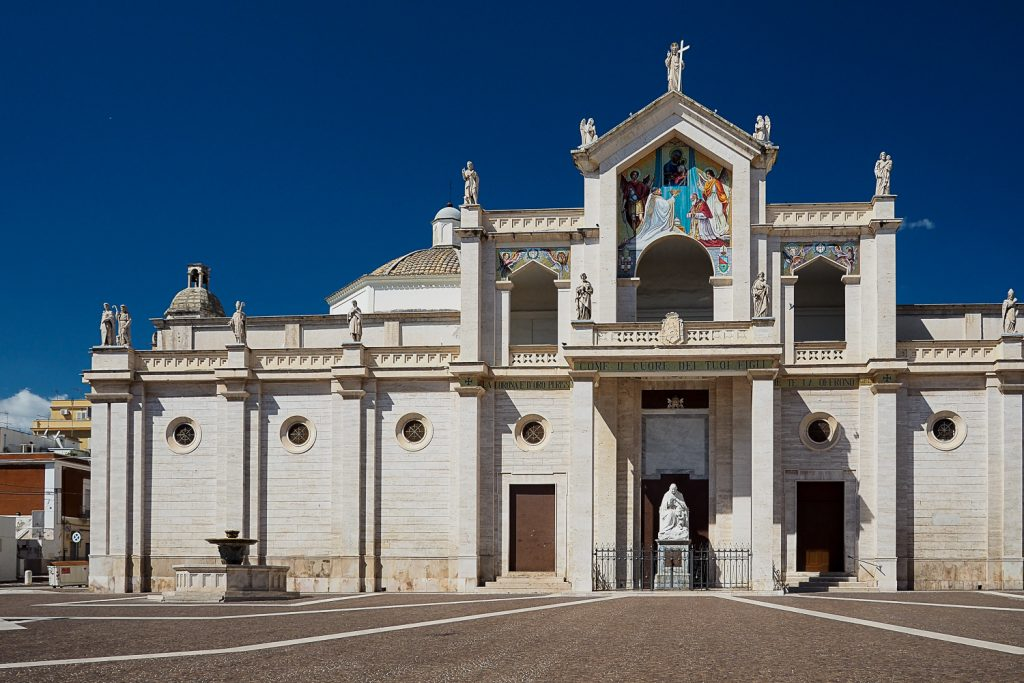 Monte Sant Angelo city center