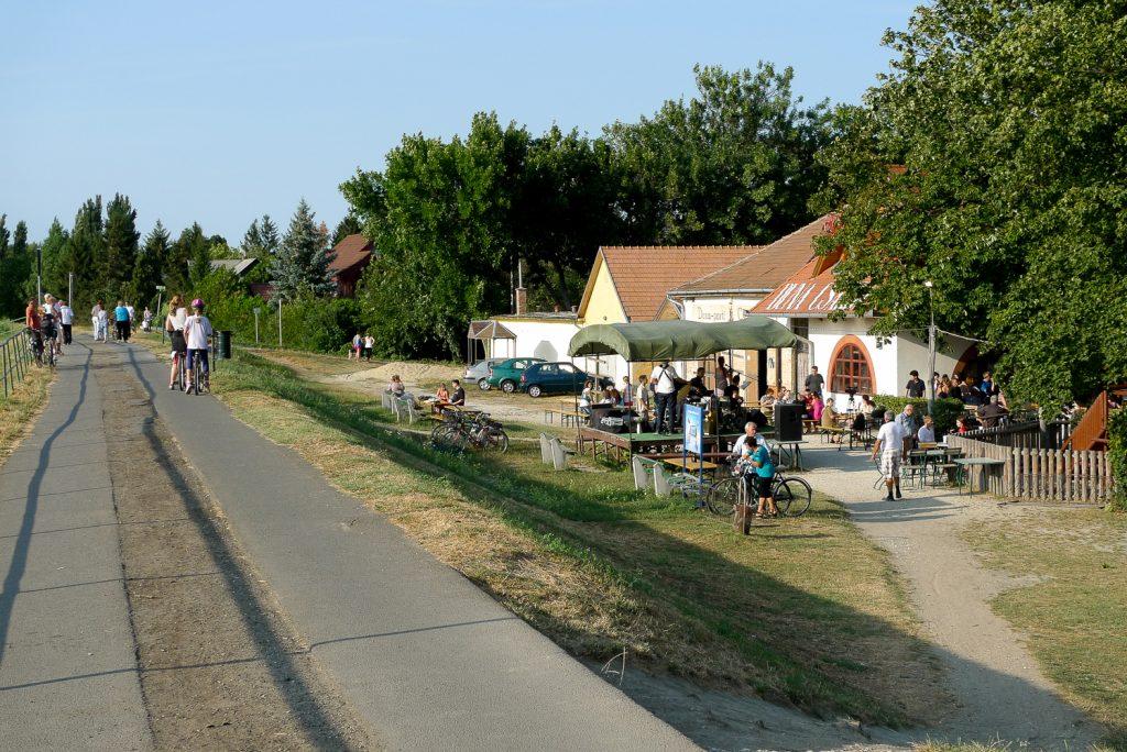 Restaurant on the bike trail