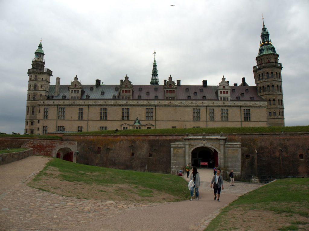 Kronborg castle in Helsingor, north of Oresund
