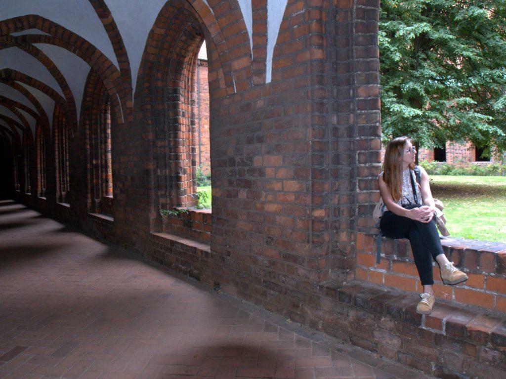 Helsingor monastery cloisters