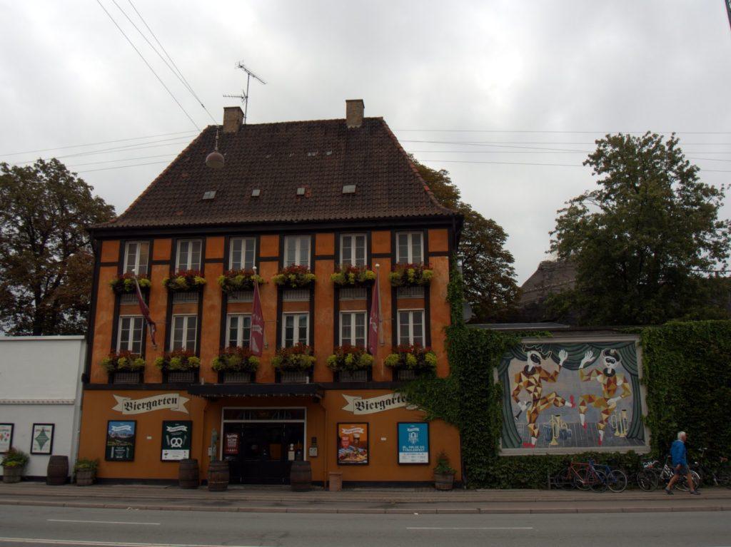 Beer garden in Helsingor