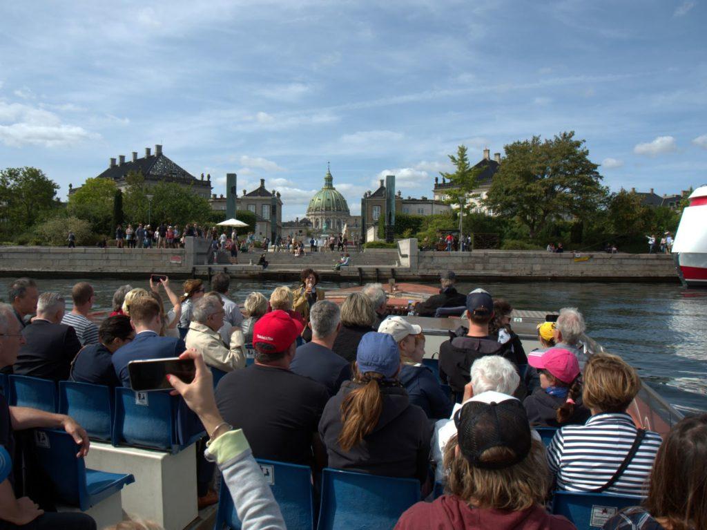 Canal trip in Copenhagen