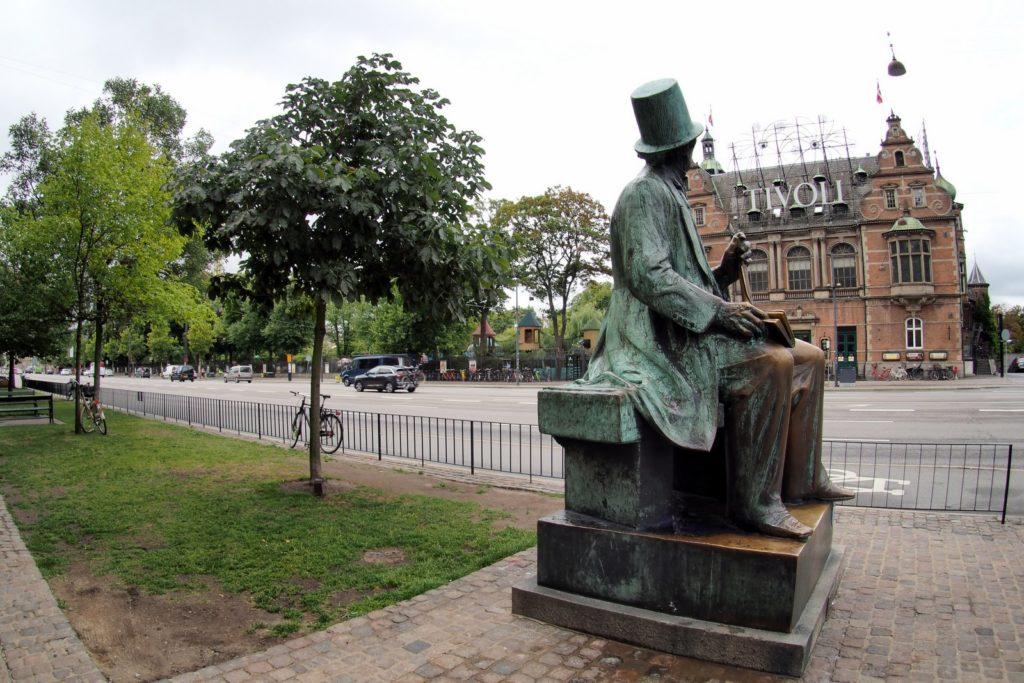 Hans Christian Andersen and Tivoli Gardens