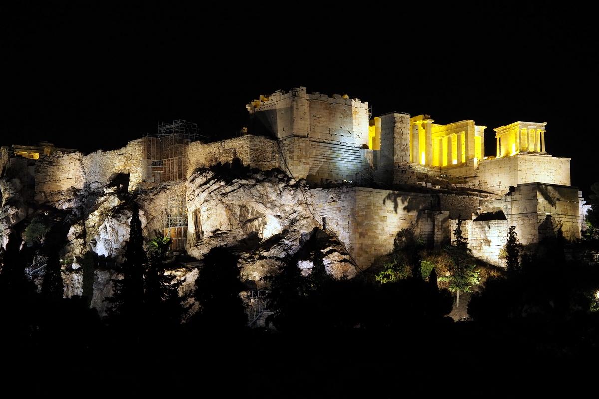 Acropolis from below