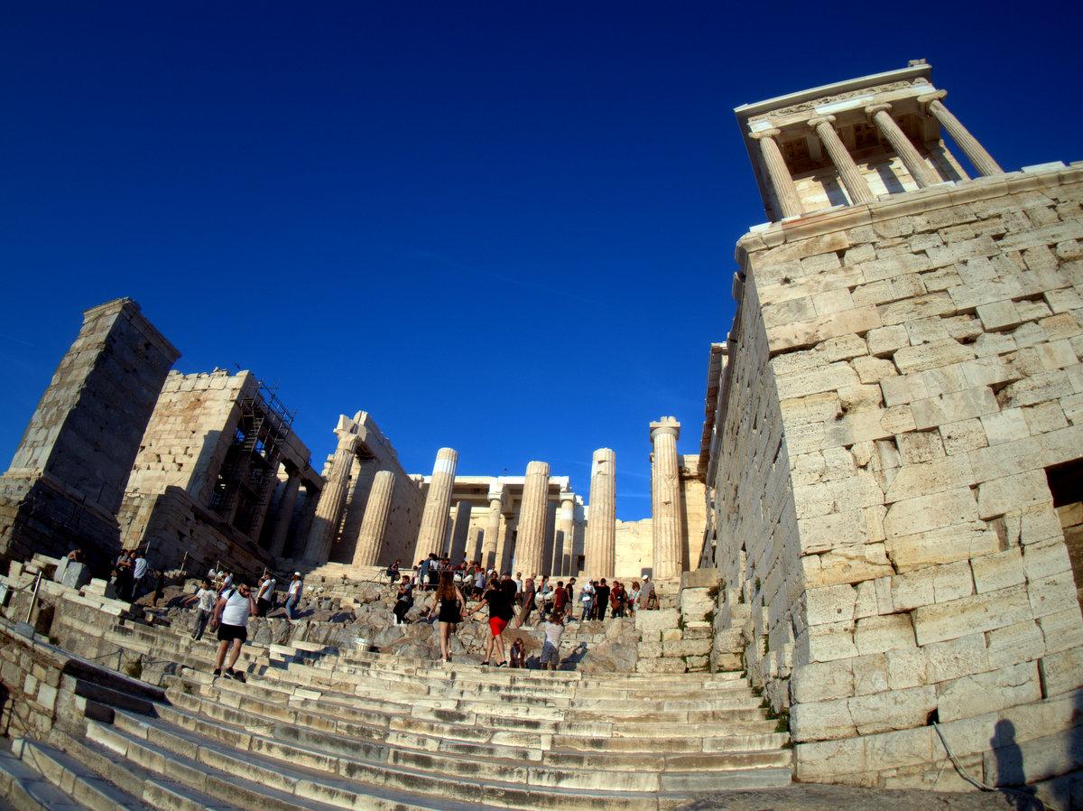 Entrance to Acropolis